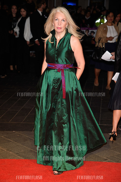 "Amanda Nevill at the BFI London Film Festival premiere of ""Suffragette"" at the Odeon Leicester Square, London.<br /> October 7, 2015  London, UK<br /> Picture: Steve Vas / Featureflash"