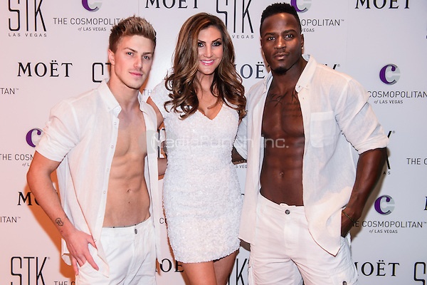 LAS VEGAS, NEVADA - SEPT. 12, 2016 Heather McDonald and Aussie Heat Cast Members pictured as Comedienne Heather McDonald Hosts STK Las Vegas' Fourth Annual White Party, at The Cosmopolitan of Las Vegas  in Las Vegas, NV, on September 12, 2016 Credit: GDP Photos/ MediaPunch
