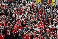 Ohio State students cheer on the Buckeyes prior to the NCAA football game against the Rutgers Scarlet Knights at Ohio Stadium in Columbus on Sept. 8, 2018. [Adam Cairns / Dispatch]