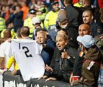 19.09.2019 Rangers v Feyenoord: Feyenoord fans with no 2 shirt for Fernando Ricksen
