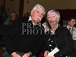 Bernie and John Moore at the Irish Doctors choir at an Grianan in aid of the Gary Kelly Centre. Photo:Colin Bell/pressphotos.ie