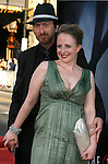 """Writer/Artist Frank Miller and Kimberly Cox arrive at the The World Premiere of """"The X-Files: I Want To Believe"""" at Mann's Grauman Chinese Theatre on July 23, 2008 in Hollywood, California."""