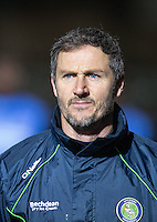 Goalkeeper / Coach Barry Richardson of Wycombe Wanderers during the The Checkatrade Trophy Southern Group D match between Wycombe Wanderers and Coventry City at Adams Park, High Wycombe, England on 9 November 2016. Photo by Andy Rowland.