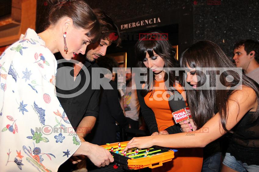 Laura Pamplona, Hugo Silva, Carmen Ruiz - Premiere En Fuera De Juego - photocall in Madrid