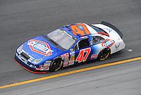 Jul. 3, 2008; Daytona Beach, FL, USA; Nascar Nationwide Series driver Kelly Bires during practice for the Winn-Dixie 250 at Daytona International Speedway. Mandatory Credit: Mark J. Rebilas-