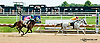 Sunshades winning then being disqualified at Delaware Park on 8/17/13