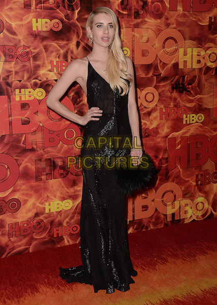 20 September  2015 - West Hollywood, California - Emma Roberts. Arrivals for the 2015 HBO Emmy Party held at the Pacific Design Center. <br /> CAP/ADM/BT<br /> &copy;BT/ADM/Capital Pictures