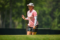 Brittany Lincicome (USA) after barely missing her long birdie putt on 2 during round 4 of the U.S. Women's Open Championship, Shoal Creek Country Club, at Birmingham, Alabama, USA. 6/3/2018.<br /> Picture: Golffile | Ken Murray<br /> <br /> All photo usage must carry mandatory copyright credit (&copy; Golffile | Ken Murray)