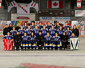 MORDEN, MB– Nov 4 2019: Team British Columbia during the 2019 National Women's Under-18 Championship at the Access Event Centre in Morden, Manitoba, Canada. (Photo by Matthew Murnaghan/Hockey Canada Images)