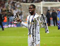 Pictured: Nathan Dyer. Sunday 24 February 2013<br /> Re: Capital One Cup football final, Swansea v Bradford at the Wembley Stadium in London.
