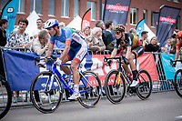 Romain Cardis (FRA/Total Direct Energie) and Tim Merlier (BEL/Corendon Circus)<br /> <br /> 23th Memorial Rik Van Steenbergen 2019<br /> One Day Race: Beerse > Arendonk 208km (UCI 1.1)<br /> ©kramon
