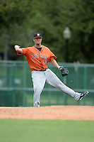 Houston Astros third baseman J.D. Davis (73) during an Instructional League game against the Atlanta Braves on September 22, 2014 at the ESPN Wide World of Sports Complex in Kissimmee, Florida.  (Mike Janes/Four Seam Images)