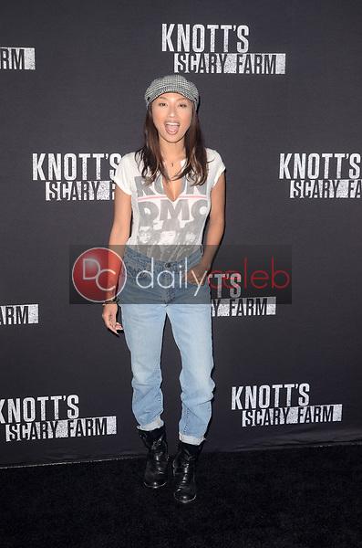 Jeannie Mai<br /> at Knott's Scary Farm and Instagram Celebrity Night, Knott's Berry Farm, Buena Park, CA 09-29-17<br /> David Edwards/Dailyceleb.com 818-249-4998