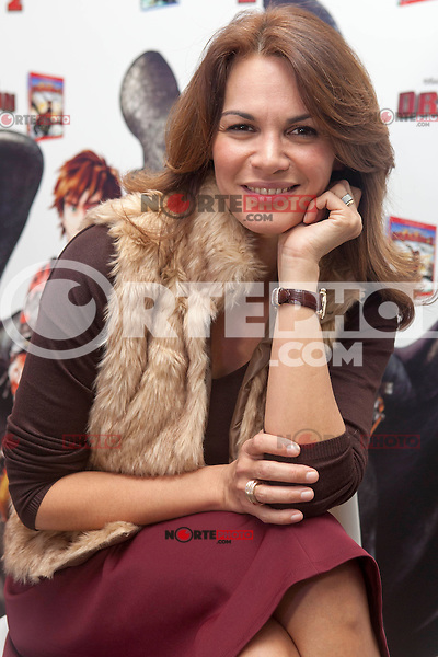 Fabiola Martinez presents the DVD of 'How to Train Your Dragon 2' 'Como entrenar a tu Dragon 2' in Madrid 25 November, 2014. (ALTERPHOTOS / Nacho Lopez) /NortePhoto<br />