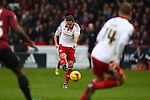 Sheffield United's Billy Sharp scores the opening goal - Sheffield United vs Bradford City - Skybet League One - Bramall Lane - Sheffield - 28/12/2015 Pic Philip Oldham/SportImage