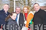 COMERATIONS: Raising the Flag on Easter Sunday morning and reading the Irish Republic Declaration were: maeve Lyons, Michael O Suillabha?in,Sean Lyons, Mike Scannell and Miriam McGillicuddy.   Copyright Kerry's Eye 2008