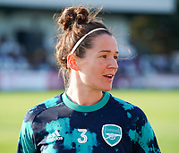 20191027 - Boreham Wood: Arsenal's Emma Mitchel is pictured before the Barclays FA Women's Super League match between Arsenal Women and Manchester City Women on October 27, 2019 at Boreham Wood FC, England. PHOTO:  SPORTPIX.BE | SEVIL OKTEM