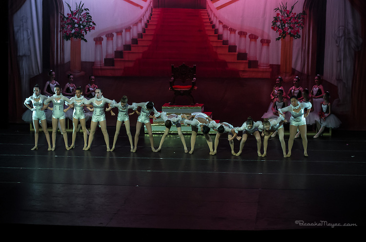 """First Performance for """"Cinderella"""", the 2014 Annual Recital by the Cary Ballet Conservatory."""