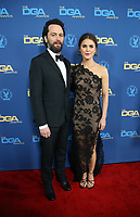 LOS ANGELES, CA - FEBRUARY 2: Matthew Rhys and Keri Russell at the 71st Annual DGA Awards at the Hollywood &amp; Highland Center's Ray Dolby Ballroom  in Los Angeles, California on February 2, 2019. <br /> CAP/MPIFS<br /> &copy;MPIFS/Capital Pictures
