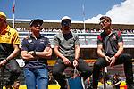 Spanish F1 Grand Prix Pirelli 2017.<br /> Max Verstappen (Red Bull), Fernando Alonso (McLaren)&amp; Romain Grosjean (Haas).