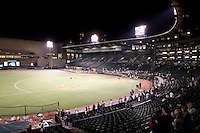 July 15, 2009: PGE Park in Portland, Oregon, shortly after the conclusion of the 2009 Triple-A All-Star Game. PGE Park is the home of the Portland Beavers, Triple-A Affiliate of the San Diego Padres.