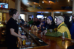 Lou Apololo and Ellen ?<br /> apres ski at the Trapp Bar