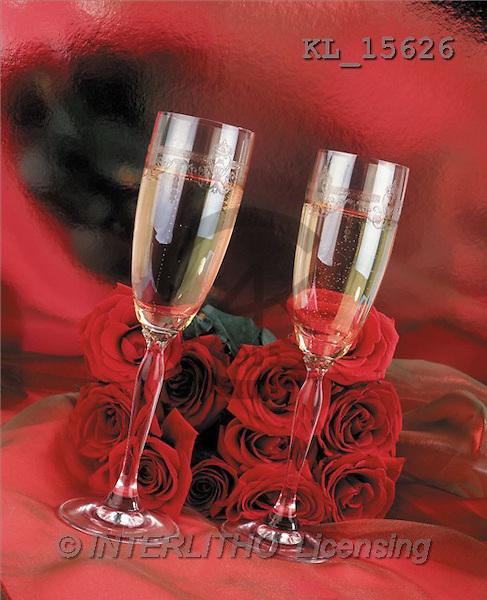Interlitho, Alberto, VALENTINE, photos, red roses, glasses(KL15626,#V#)