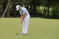 Zach JOHNSON (USA) putts on the 8th green during Thursday's Round 1 of the 2014 PGA Championship held at the Valhalla Club, Louisville, Kentucky.: Picture Eoin Clarke, www.golffile.ie: 7th August 2014