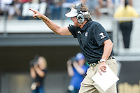September 28, 2013 - Orlando, FL, U.S: South Carolina Gamecocks head coach Steve Spurrier during 1st half NCAA football game action between the South Carolina Gamecocks and the UCF Knights at Bright House Networks Stadium in Orlando, Fl