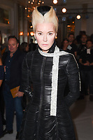 Daphne Guinness at the Jasper Conran Spring Summer 2018 show as part of London Fashion Week, London, UK. <br /> 16 September  2017<br /> Picture: Steve Vas/Featureflash/SilverHub 0208 004 5359 sales@silverhubmedia.com