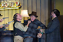 "London, UK. 30.09.2014. English National Opera's production of ""The Girl of the Golden West"", by Giacomo Puccini, directed by Richard Jones, conducted by Keri-Lynn Wilson, opens at London Coliseum. Picture shows: Graham Clark (Nick - left). Photograph © Jane Hobson."