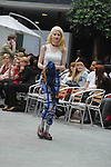 Middlesex Uni fashion show 2012....Picture by Gavin Rodgers/ Pixel8000. 07917221968