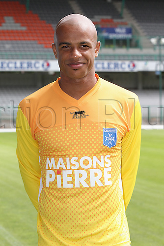 01.08.2013. Auxerre, France. Official Club photoshoot portait for season 2013-14.  (Auxerre)  Jeffrey Baltus