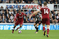 Liverpool's Daniel Sturridge drives forward<br /> <br /> Photographer Rich Linley/CameraSport<br /> <br /> The Premier League -  Newcastle United v Liverpool - Sunday 1st October 2017 - St James' Park - Newcastle<br /> <br /> World Copyright &copy; 2017 CameraSport. All rights reserved. 43 Linden Ave. Countesthorpe. Leicester. England. LE8 5PG - Tel: +44 (0) 116 277 4147 - admin@camerasport.com - www.camerasport.com