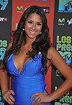 UNIVERSAL CITY, CA. - October 15: Jazmin Lopez attends Los Premios MTV 2009 Latin America Awards held at the Gibson Amphitheatre on October 15, 2009 in Universal City, California.