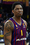 Turkish Airlines Euroleague 2018/2019. <br /> Regular Season-Round 16.<br /> FC Barcelona Lassa vs Darussafaka Tekfen Istanbul: 97-65.<br /> Kevin Seraphin.
