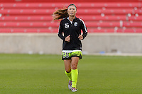 Chicago, IL - Sunday Sept. 04, 2016: Rumi Utsugi prior to a regular season National Women's Soccer League (NWSL) match between the Chicago Red Stars and Seattle Reign FC at Toyota Park.