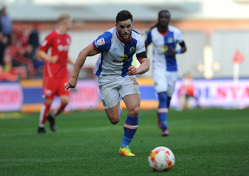 Blackburn Rovers' Craig Conway in action during todays match  <br /> <br /> Photographer Ashley Crowden/CameraSport<br /> <br /> The EFL Sky Bet Championship - Bristol City v Blackburn Rovers - Saturday 22nd October 2016 - Ashton Gate - Bristol<br /> <br /> World Copyright &copy; 2016 CameraSport. All rights reserved. 43 Linden Ave. Countesthorpe. Leicester. England. LE8 5PG - Tel: +44 (0) 116 277 4147 - admin@camerasport.com - www.camerasport.com