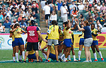 Brazil qualified. Day 1 at Hong Kong Stadium, HSBC World Rugby Sevens Series, Hong Kong Sevens 2019 - Photo Martin Seras Lima