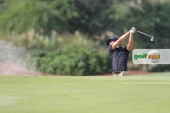 Thorbjorn Olesen (DEN) on the 16th fairway during the 3rd round of the DP World Tour Championship, Jumeirah Golf Estates, Dubai, United Arab Emirates. 17/11/2018<br /> Picture: Golffile | Fran Caffrey<br /> <br /> <br /> All photo usage must carry mandatory copyright credit (© Golffile | Fran Caffrey)