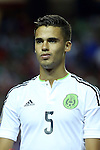 22 July 2015: Diego Reyes (MEX). The Panama Men's National Team played the Mexico Men's National Team at the Georgia Dome in Atlanta, Georgia in a 2015 CONCACAF Gold Cup semifinal match. Mexico won the game 2-1 after extra time.