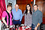 Ann Ahern from Castlemaine celebrating her birthday in Denny Lane on Saturday night.<br /> L to r: Ann and John Ahern, Vera and Brendan Fitzgerald.