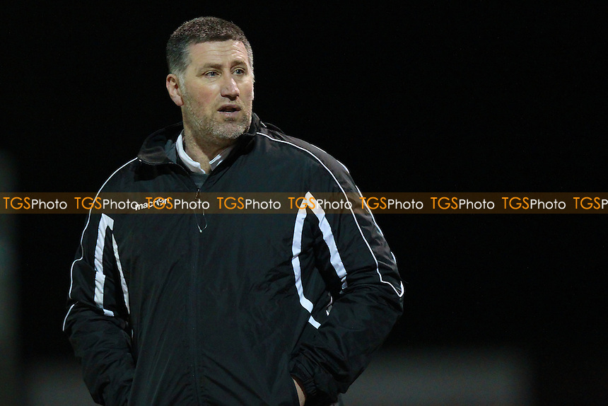 Hornchurch manager Jim MCFarlane during AFC Hornchurch vs Tilbury, Ryman League Divison 1 North Football at Hornchurch Stadium, Upminster Bridge, UK on 26/01/2016