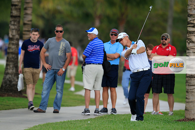 John Senden (AUS) during the 3rd round at the WGC Cadillac Championship, Blue Monster, Trump National Doral, Doral, Florida, USA<br /> Picture: Fran Caffrey / Golffile