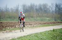 race favorite Alexander Kristoff (NOR/Katusha)<br /> <br /> 2015 Paris-Roubaix recon