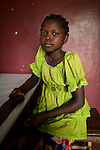 Malaria patient at MSF hospital in Bossangoa, Central African Republic