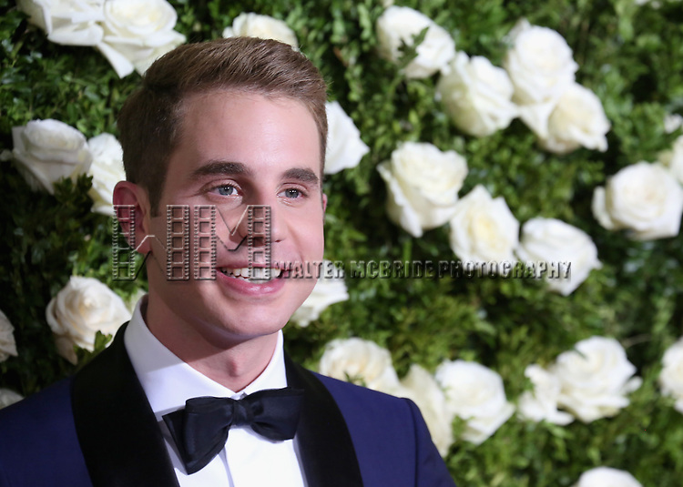NEW YORK, NY - JUNE 11:  Actor Ben Platt attends the 71st Annual Tony Awards at Radio City Music Hall on June 11, 2017 in New York City.  (Photo by Walter McBride/WireImage)