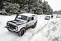 10/12/17<br /> <br /> Occupants of this Land Rover, who were on their way to church, became real-life Good Samaritans and towed this car up a steep icy hill after it became stuck in the Goyt Valley, near Whaley Bridge in the Derbyshire Peak District. <br />   <br /> All Rights Reserved F Stop Press Ltd. +44 (0)1335 344240 +44 (0)7765 242650  www.fstoppress.com