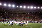 The Wisconsin Badgers lines up against the defense of the Ohio State Buckeyes during an NCAA college football game on October 16, 2010 at Camp Randall Stadium in Madison, Wisconsin. The Badgers beat the Buckeyes 31-18. (Photo by David Stluka)