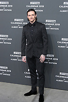 Sergei POLUNIN,(dancer and partner of Laetitia CASTA),at the red carpet of the Pirelli Calendar launch 2019,Hangar Biccoca,MILANO,05.12.2018 Credit: Action Press/MediaPunch ***FOR USA ONLY***